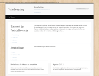 texterbewertung.com screenshot