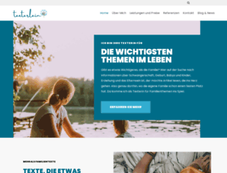 texterlein.de screenshot