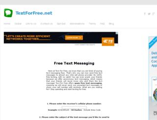 textforfree.net screenshot