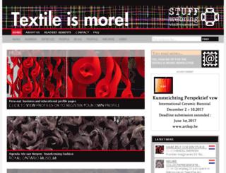textileismore.com screenshot