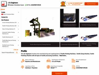 textileprintingmachines.net screenshot