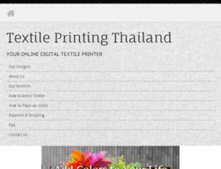 textileprintingthailand.com screenshot