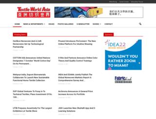 textileworldasia.com screenshot