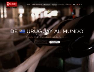 textillapaz.com screenshot