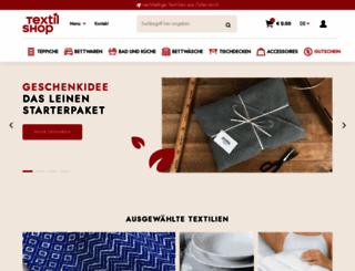 textilshop.at screenshot