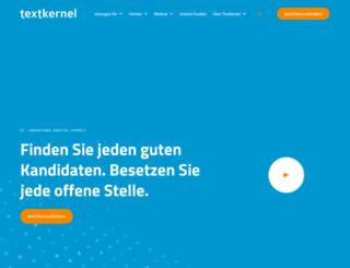 textkernel.de screenshot