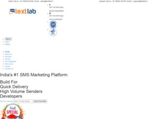 textlab.in screenshot