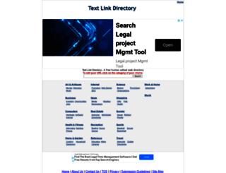 textlinkdirectory.com screenshot