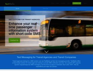 textmarks.com screenshot