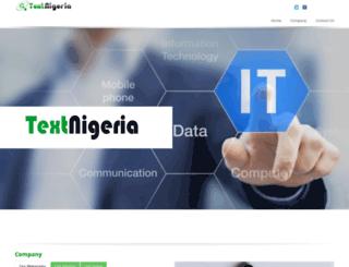 textnigeria.com screenshot