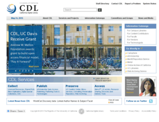 texts.cdlib.org screenshot