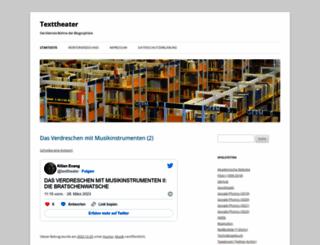texttheater.net screenshot