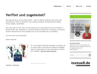 textuell.de screenshot