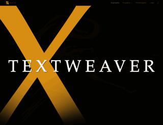 textweaver.com screenshot