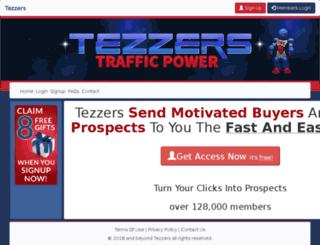 tezaktrafficpower.com screenshot