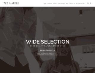 tezmarble.com screenshot
