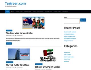 teztreen.com screenshot