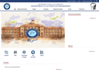 tf-otomotiv.gazi.edu.tr screenshot