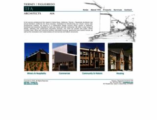 tfarch.com screenshot