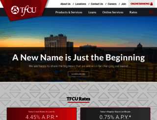 tfcu.coop screenshot