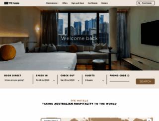 tfehotels.com screenshot