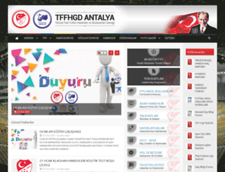 tffhgdantalya.org screenshot