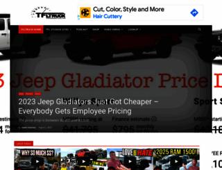 tfltruck.com screenshot