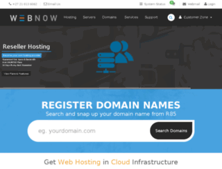 tfsapp.webnow.co.za screenshot
