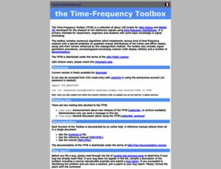 tftb.nongnu.org screenshot