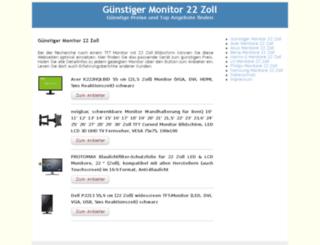 tftmonitor22zoll.de screenshot