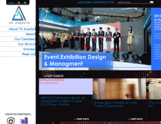 tg-events.com screenshot