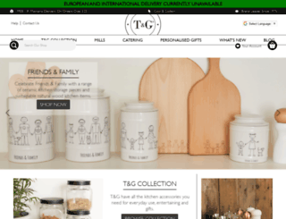 tg-woodware.com screenshot