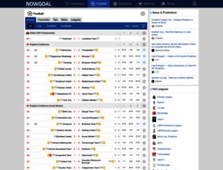 tg178.nowgoal.com screenshot