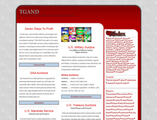 tgand.com screenshot