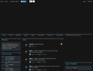tgoe.enjin.com screenshot
