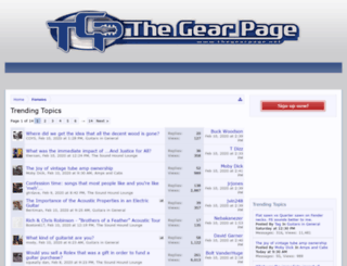 tgpmain.thegearpage.net screenshot