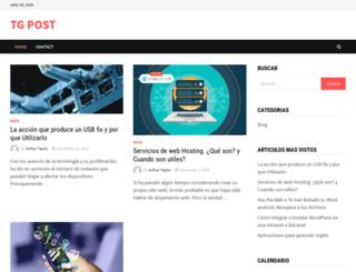 tgpost.com.ar screenshot