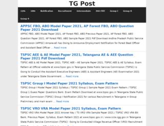 tgpost.in screenshot