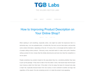 tgslabs.com screenshot