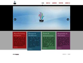tgvgroup.com screenshot