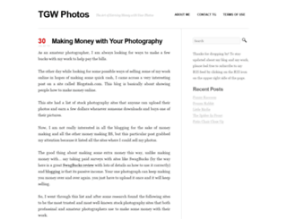 tgwphotos.com screenshot