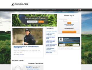 th.thaigolfer.com screenshot