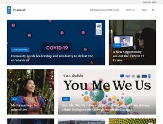 th.undp.org screenshot
