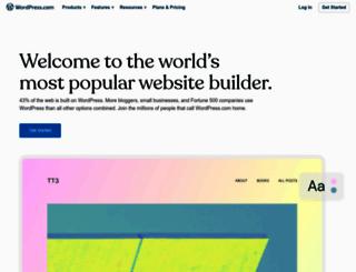 th.wordpress.com screenshot