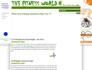 th3fitnessworld.blogspot.co.uk screenshot