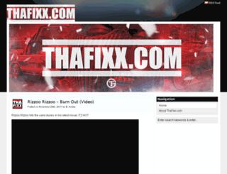 thafixx.com screenshot
