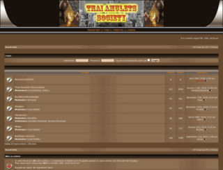 thai-amulets-society.org screenshot