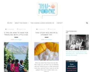 thai-foodie.com screenshot