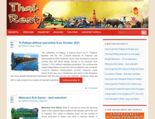 thai-rest.com screenshot
