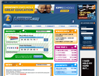 thai.lottery.com screenshot